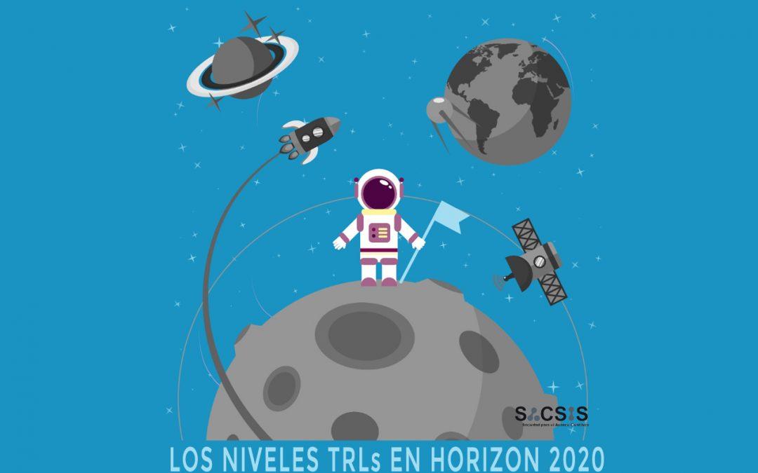 Los niveles TRLs en Horizon 2020