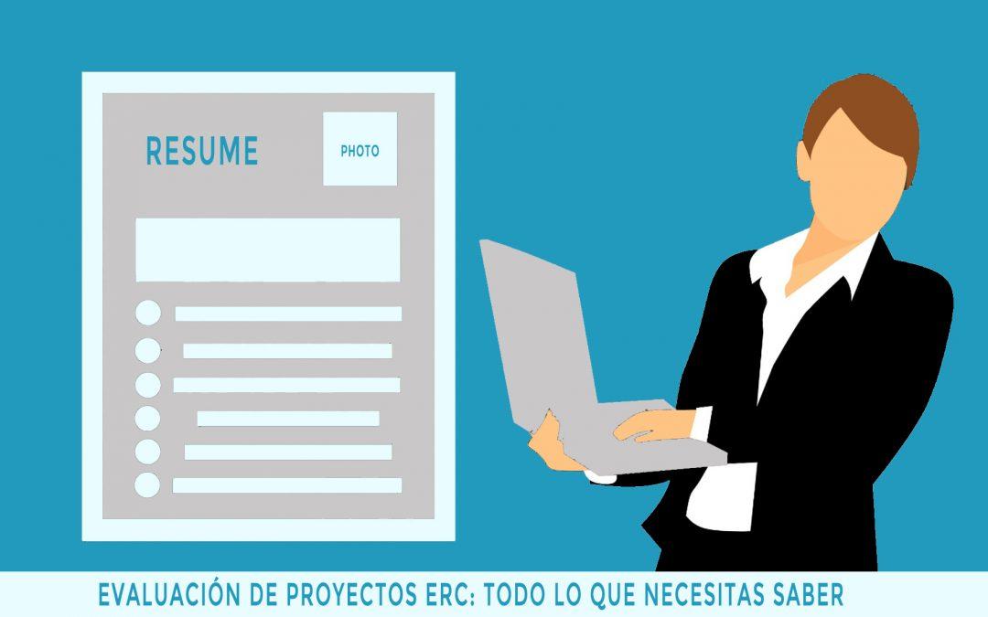 La evaluación en los proyectos ERC: todo lo que necesitas saber