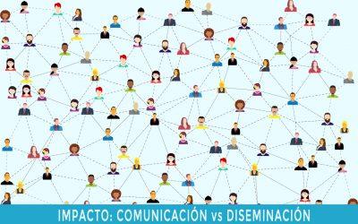 Especial Impacto H2020 (I): Diferencia entre comunicación y diseminación