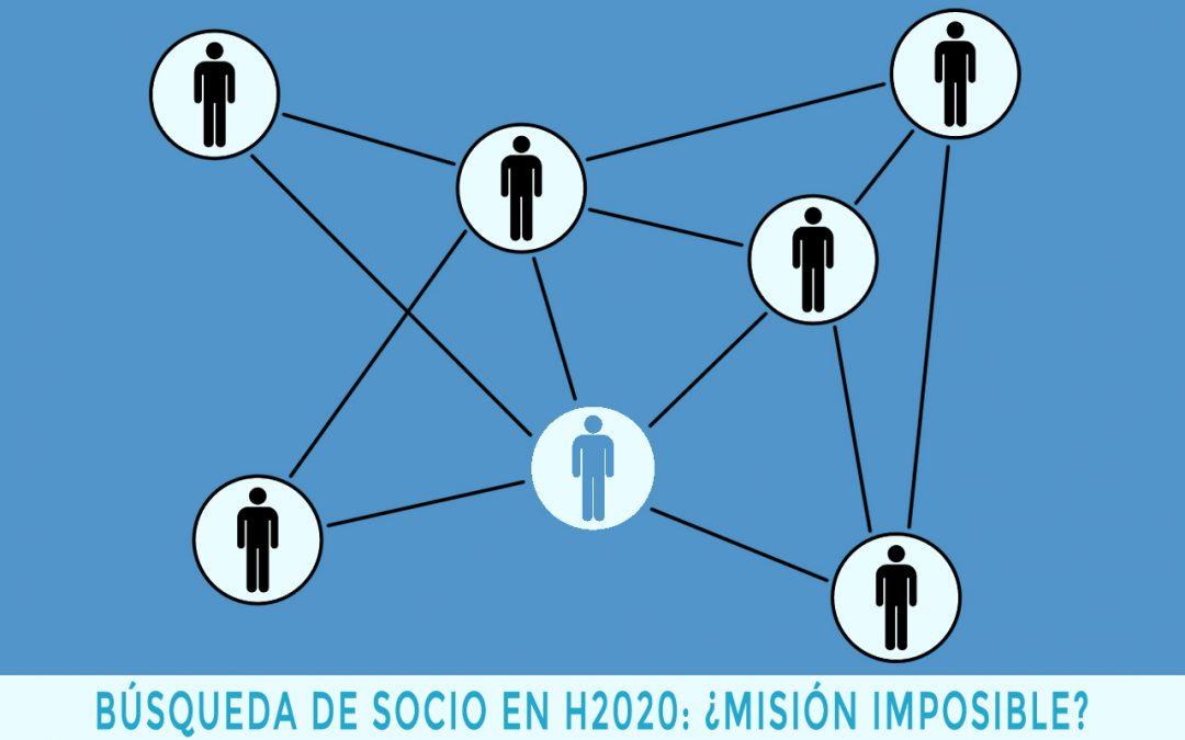 La búsqueda de socios para un proyecto H2020: ¿misión imposible?