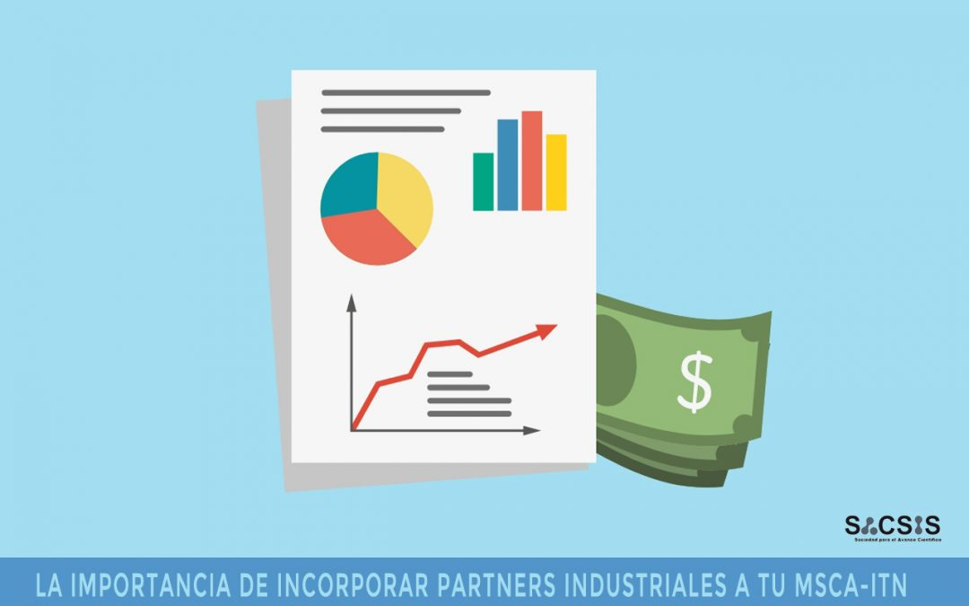 La importancia de la industria en el partenariado de una MSCA-ITN