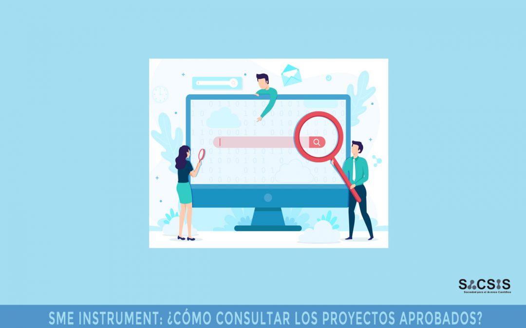 SME Instrument: ¿cómo consultar los proyectos aprobados?