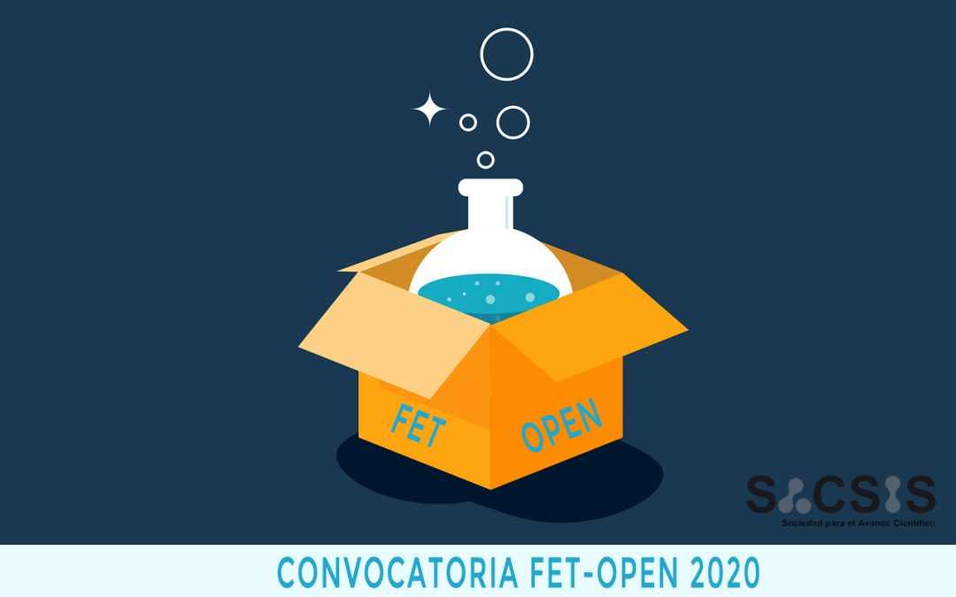 La convocatoria FET-OPEN 2020: la tecnología que aún está por venir  (I)