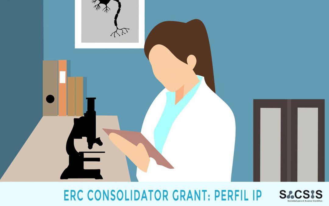 ERC-Consolidator: los requisitos del Investigador Principal (IP)