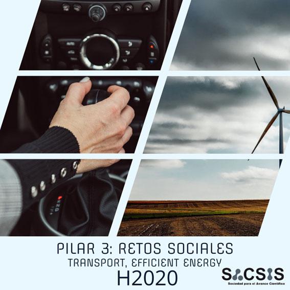 Últimas convocatorias H2020 Pilar 3: Retos sociales -transporte y eficiencia energética- (II)