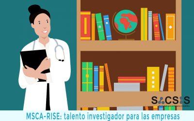 MSCA-RISE: talento investigador para las pymes