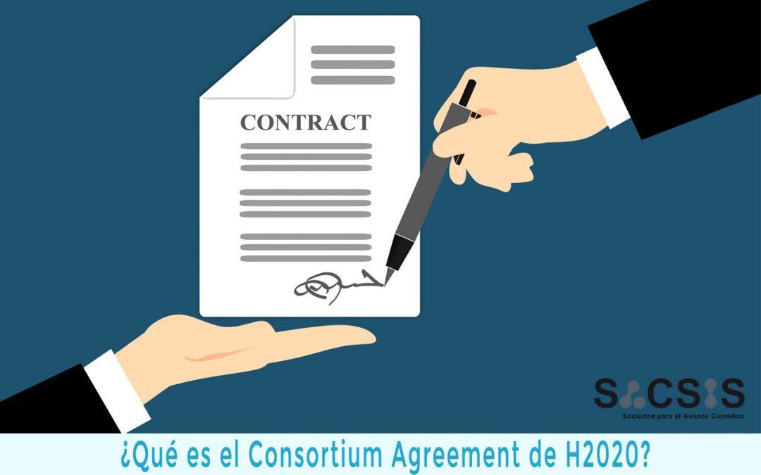 ¿Qué es el Consortium Agreement de H2020 y cómo puedes redactarlo?