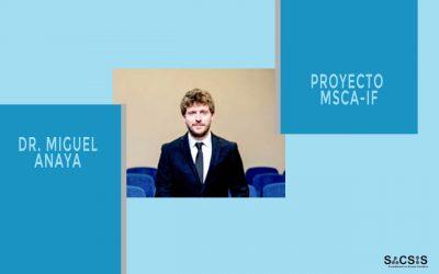 Entrevista al Dr. Miguel Anaya ganador de una MSCA-IF en aplicaciones en optoelectrónica