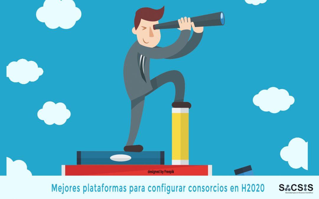 Mejores plataformas para configurar consorcios en proyectos europeos H2020