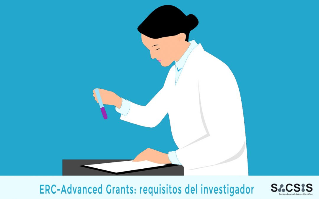 ERC Advanced Grants: requisitos del investigador