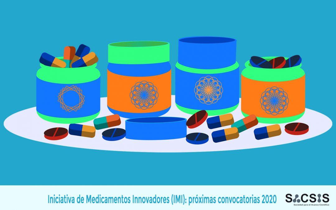 La Iniciativa de Medicamentos Innovadores (IMI): próximas convocatorias 2020