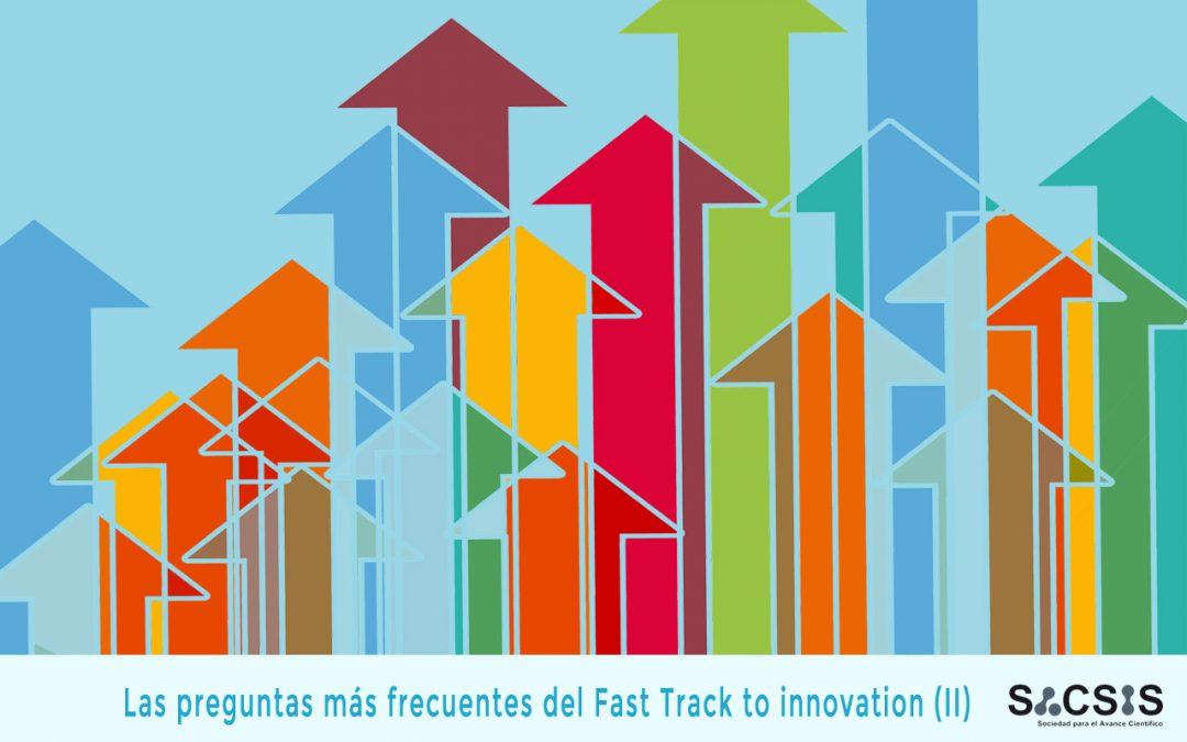 Las preguntas más frecuentes del programa Fast Track to innovation II