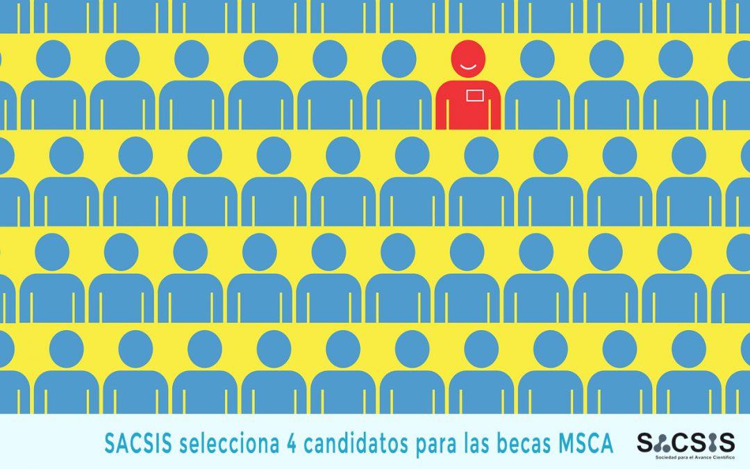 HIRING!! Seleccionamos 4 candidatos para las becas Marie Curie (MSCA)