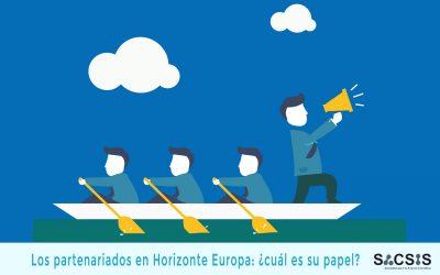Los partenariados en Horizonte Europa: ¿cuál es su papel?
