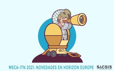 Novedades de Horizon Europe en el programa MSCA-ITN para formación de doctores