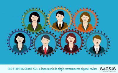 ERC-StG-21: La importancia de elegir correctamente al panel de expertos en ERC Starting Grant