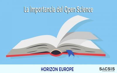 La importancia del Open Science en Horizon Europe