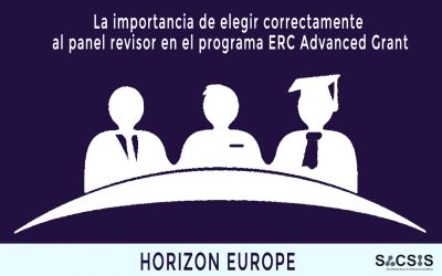 La importancia de elegir correctamente al panel revisor en el programa ERC Advanced Grant