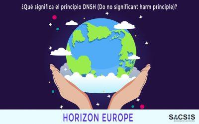¿Qué significa el principio DNSH (Do no significant harm principle)?