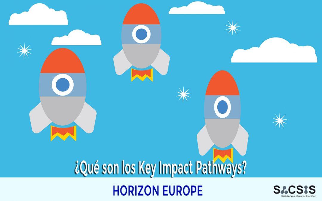 ¿Qué son los Key Impact Pathways en Horizon Europe?