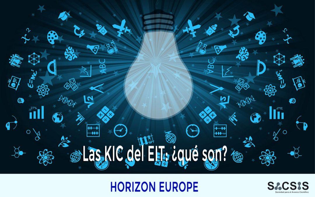Las KIC del Instituto Europeo de Innovación y Tecnologia (EIT): ¿qué son?